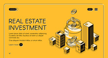 Real Estate Investment Isometr...