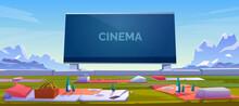 Outdoor Cinema, Open Air Movie...