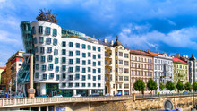 Palaces And Dancing House In P...