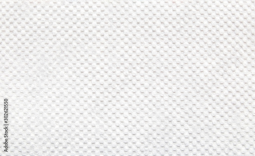Cuadros en Lienzo  Close-up of white color tissue paper texture background abstract