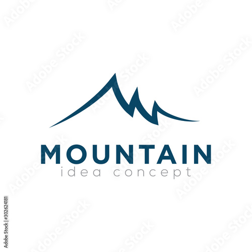 Fotografía  Mountain Logo Design Template