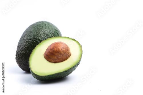 Carta da parati LWTWL0025741 avocado isolated on white background