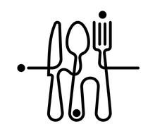 Logo Of A Cafe Or Restaurant M...