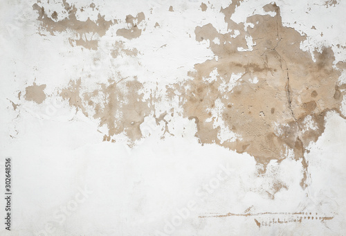 Cuadros en Lienzo  Old and grunge concrete wall or floor for background and texture material