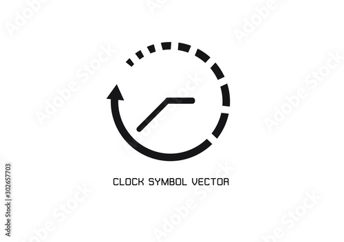 Fototapeta 24 hour assistance , Time,clock Icon Isolated on White Background.Vector Illustration EPS 10. obraz