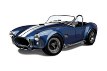 Classic Sports Car Shelby Cobra
