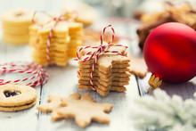 Christmas Sweet Cookies Stars ...