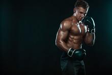 Boxer, Man Fighting Or Posing ...