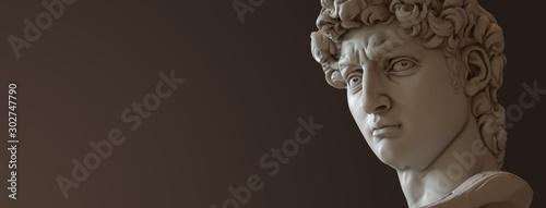 Fotomural David sculpture by Michelangelo