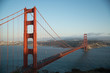 Golden Gate Bridge, San Francisco, California, USA, Red Bridge, American Bridge