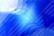 canvas print picture - abstract, blue, design, wave, illustration, technology, wallpaper, pattern, digital, lines, light, curve, graphic, backdrop, texture, art, line, motion, backgrounds, computer, business, color, futuris