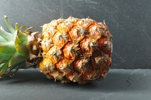 Ripe Pineapple Fruit Lying On ...