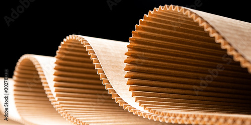 Foto paper factory process texture carton industry brown