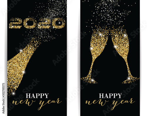 Fototapeta 2020 Happy New Year obraz