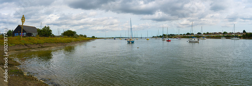 Fotografía Panorama shot of the River Crouch by Woodham Ferrers and Hullbridge