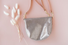 Modern Shimmer Silver Leather ...