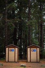 Mens And Womens Outhouses In P...