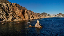 Pelican Rock Is A Famous Snorkeling Spot Near The The Arch Of Cabo San Lucas