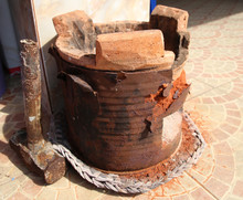 Old Clay Stove For Traditional...