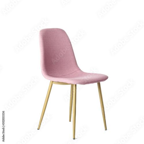 Obraz na plátně Stylish chair on white background