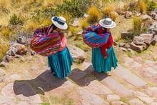 Two Quechua Indigenous Women I...
