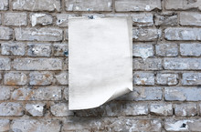 Paper On Wall