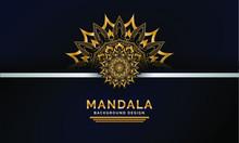Abstract Indian Mandala Backgr...