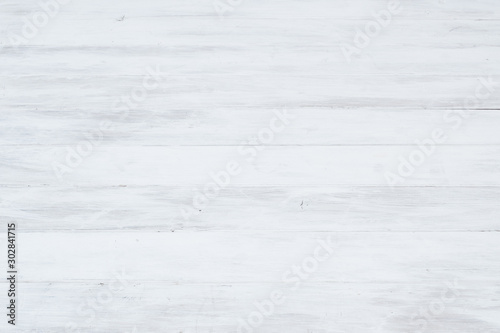 Fototapety, obrazy: white wood plank texture,abstract background,