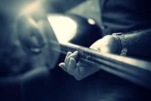 Saz And Hand,Turkish Musical I...