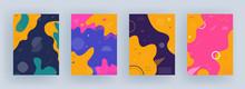 Colorful Fluid Art Abstract Ba...