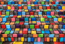 Stacked Multicolor And Colorfu...