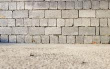 Cinder Block Brick Wall And Co...