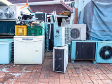 Old Air Conditioners And Refri...