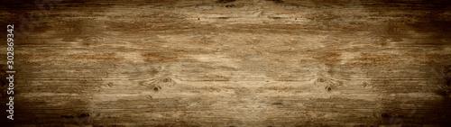 stare brązowe rustykalne ciemnobrązowe drewniane tekstury - drewno tło panorama transparent długi