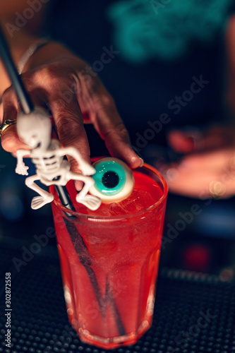Red cocktail #302872558