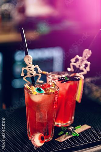 Halloweens spooky drinks #302872565