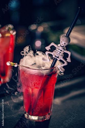 Halloween festive drink #302872591
