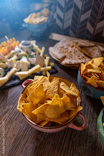 Savory snack party food #302872597