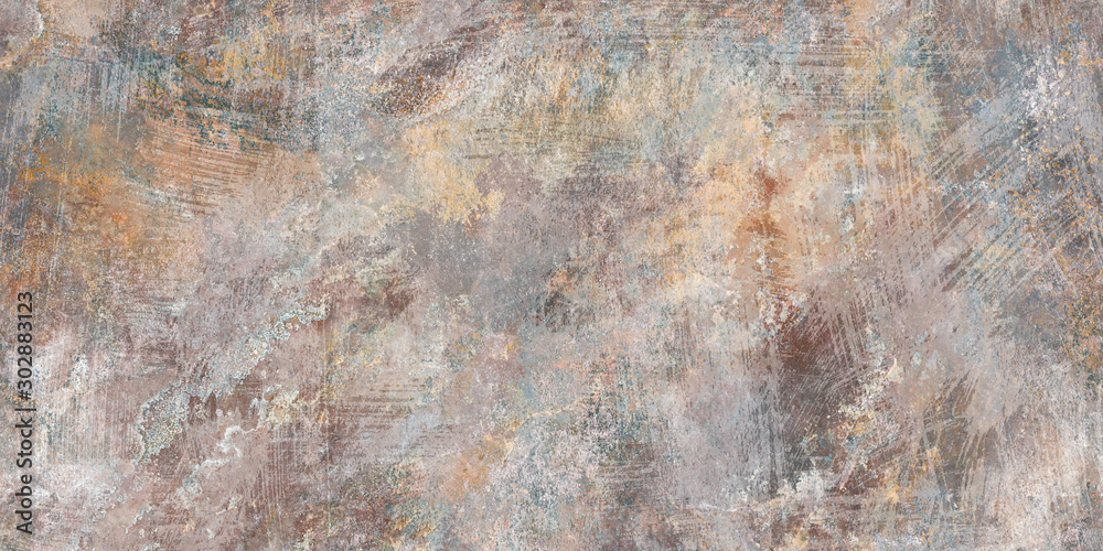Fototapety, obrazy: brown old stone background, concrete stone background, ceramic tile
