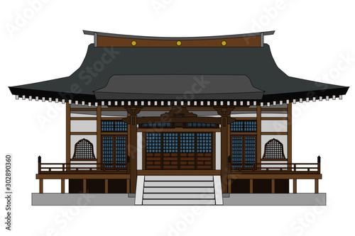 Obraz na plátně 寺2縁あり