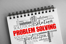 Problem Solving Aid Word Cloud...
