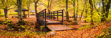 Small Wooden Bridge On River G...