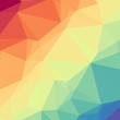 Abstract Delaunay Voronoi trianglify Generative Art background illustration