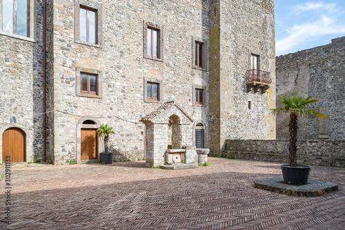 Ancient Castle in Melfi in Basilicata region, Italy