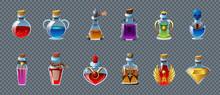 Magic Potion Transparent Set