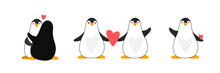 Set Of Vector Penguins For Nur...