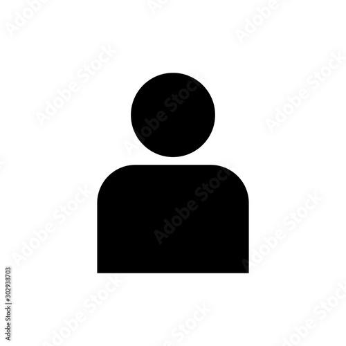Pinturas sobre lienzo  Men icon symbol simple design
