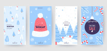 Colorful Christmas Banners Wit...