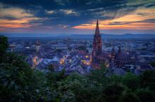 Panorama Von Freiburg Zur Blau...