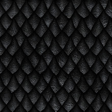 Seamless Texture Of Dragon Sca...